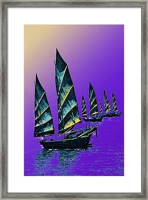 Macao Marmalade Framed Print