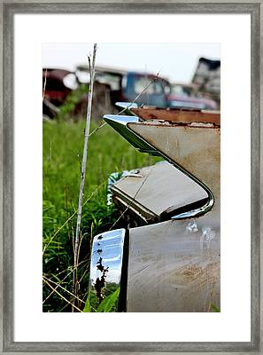 Junkyard  Framed Print by Jon Baldwin  Art