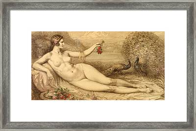 Juno Framed Print by Armand Point