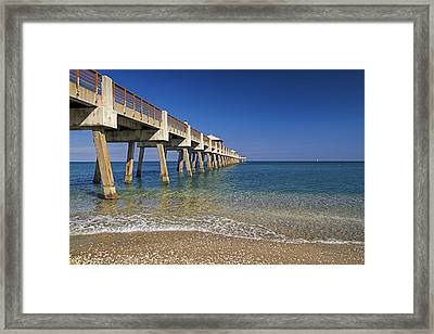 Juno Pier Framed Print