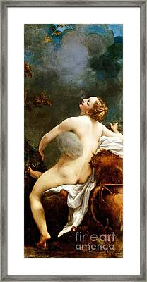 Jupiter And Lo Framed Print by Pg Reproductions