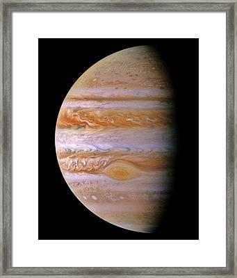 Jupiter And The Spot Framed Print