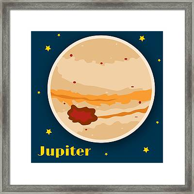 Jupiter Framed Print by Christy Beckwith