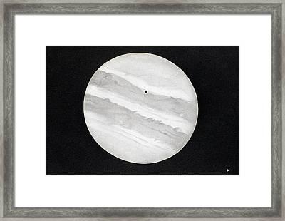 Jupiter Framed Print by Collection Abecasis