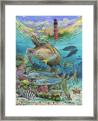 Jupiter Haven Re001 Framed Print