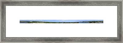 Jupiter Inlet 360 Framed Print by Richard Henne