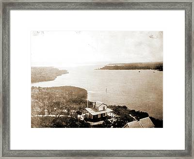 Jupiter Inlet From The Lighthouse, Fla, Jackson, William Framed Print by Litz Collection