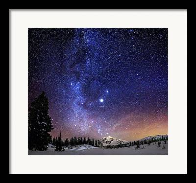 Nightscape Framed Prints