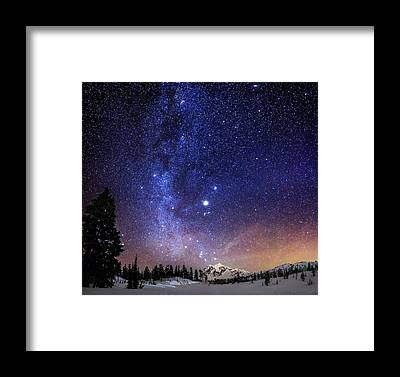 Milky Way Framed Prints