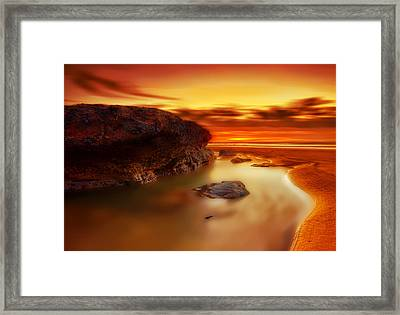 Jupiter Sunrise Framed Print by Mark Leader