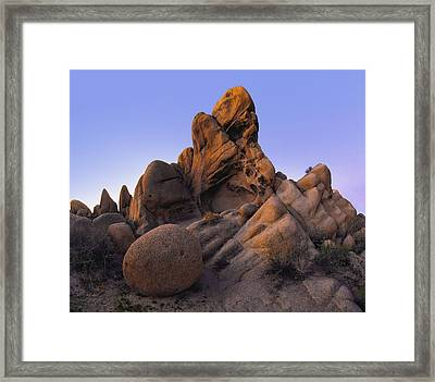 Jurassic Rocks Framed Print