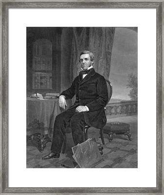 Jurist Oliver Wendell Holmes Framed Print by Underwood Archives