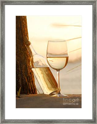 Just A Beautiful Day Framed Print