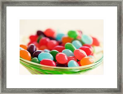 Just A Bunch Of Beans Framed Print by Kim Fearheiley