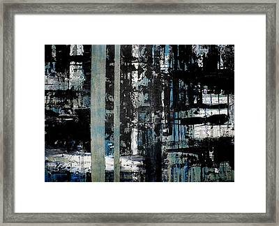 Just A Crack Framed Print by Chad Rice