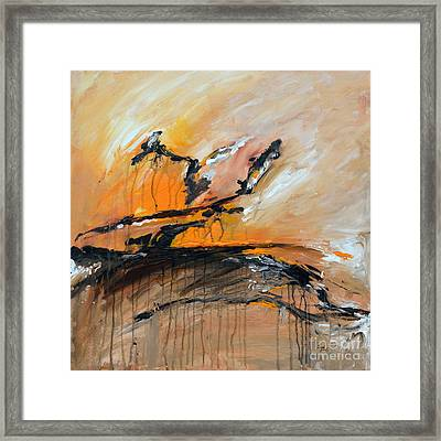 Just A Dream Framed Print by Ismeta Gruenwald