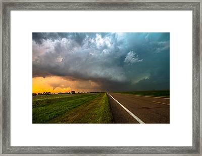 Just A Dream Framed Print by Sean Ramsey