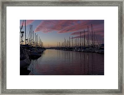 Just A Fleeting Moment Framed Print by Heidi Smith