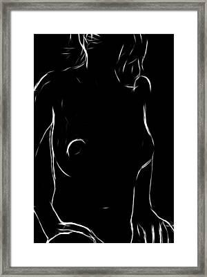 Just A Girl Framed Print by Steve K