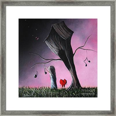 Just A Little Love Song By Shawna Erback Framed Print by Shawna Erback