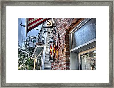 Just A Little Off Of The Top Framed Print