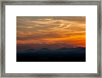Just A Little Off The Top Framed Print