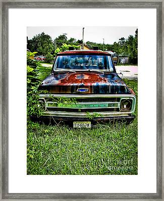 Just A Little Rusty Framed Print by Colleen Kammerer