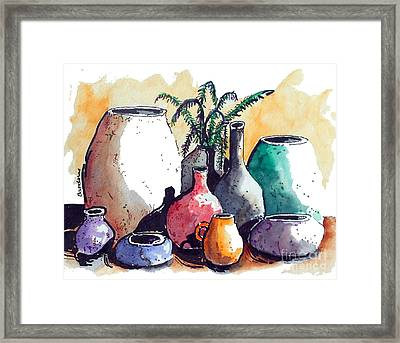 Just A Simple Still Life Framed Print