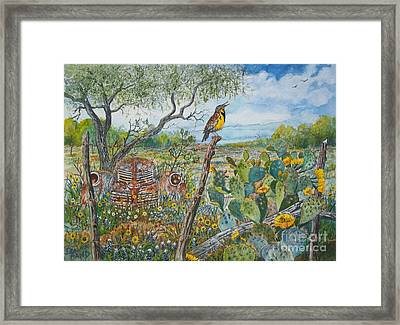 Spring Time Framed Print by Don Hand