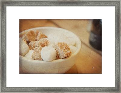 Just A Spoonful Of Sugar Framed Print by TK Goforth