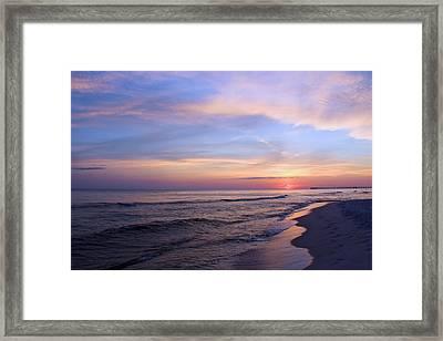 Just After Sunset Framed Print