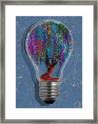 Just An Idea Framed Print by Jack Zulli
