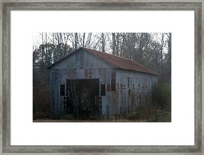 Just An Old Barn Framed Print