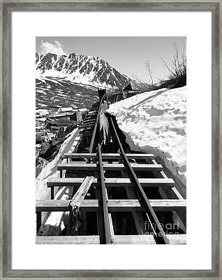 Just Around The Bend Framed Print by Dani Abbott