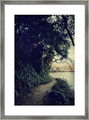 Just Around The Corner Framed Print by Laurie Search
