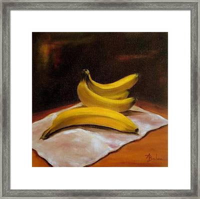 Just Bananas Framed Print