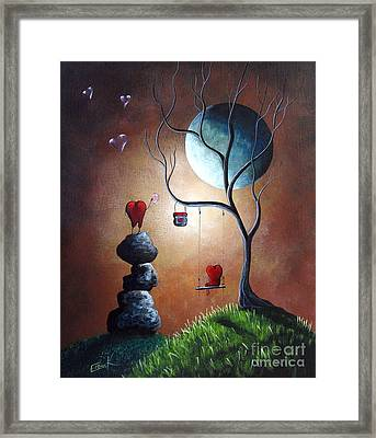 Just Because I Love You By Shawna Erback Framed Print by Shawna Erback