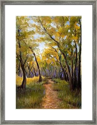 Just Before Autumn Framed Print by Susan Jenkins