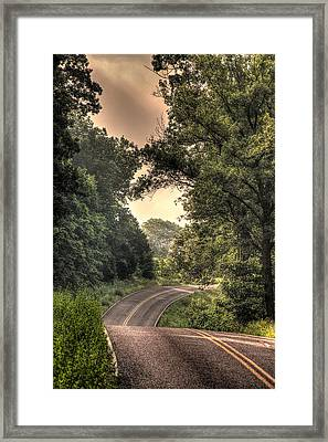 Just Before B Framed Print