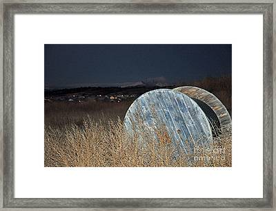 Framed Print featuring the photograph Just Before Dawn by Minnie Lippiatt