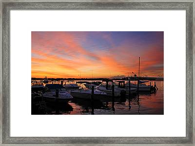 Just Before Dawn Framed Print