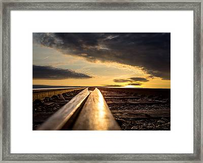 Just Before Sunrise Framed Print by Bob Orsillo
