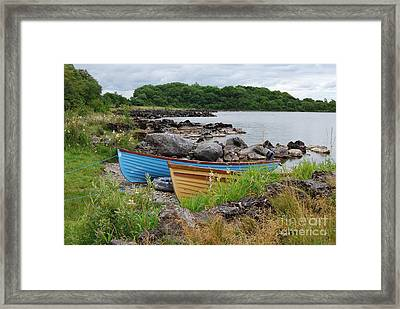 Just Before The Rain Framed Print by Lynda Cookson