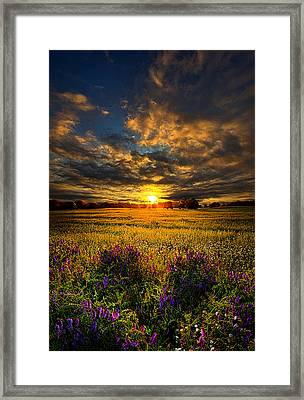 Just Believe Framed Print by Phil Koch
