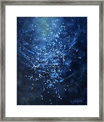 Just Beneath The Surface Framed Print by Kim Sobat