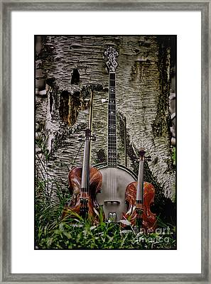 Just Country Music Framed Print