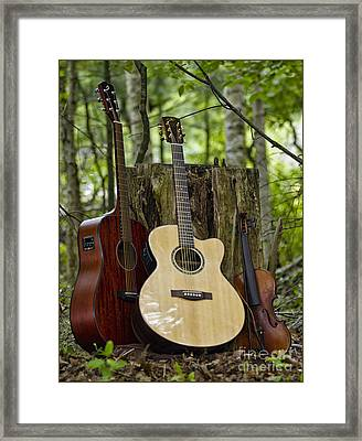 Just Country Framed Print by Timothy J Berndt