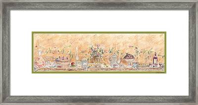 Just Desserts Framed Print by John Keaton