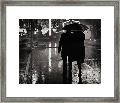 Just Do It Framed Print by Michel Verhoef