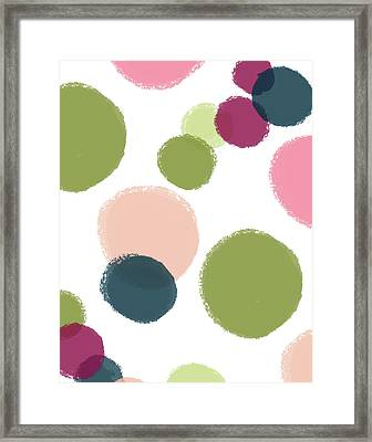 Just Dots Framed Print by Amy Cummings